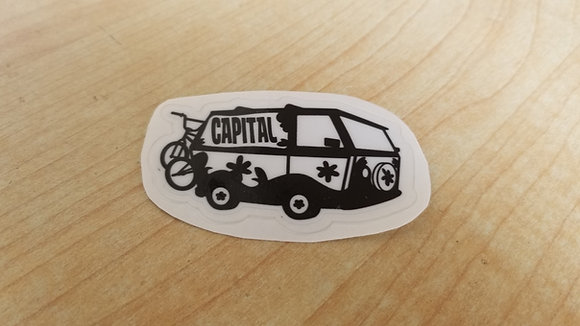 """Capital Van"" Stickers"