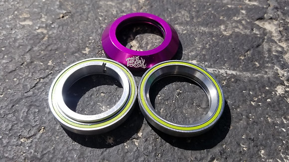 """Total Integrated BMX Headset - Purple 1-1/8"""""""