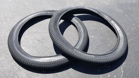 "Demolition Hammerhead BMX Tires - Black 20x2.25"" (PAIR)"