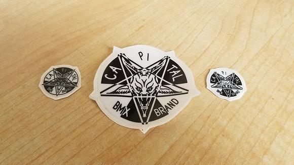 """Raydiation"" Stickers"