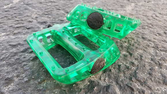 Odyssey Twisted PC Pedals - Trans Green