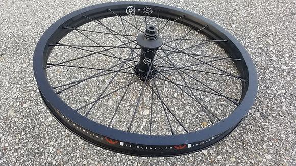 """Primo N4FL V2 BMX Front Wheel - Black 20"""" (14mm)"""