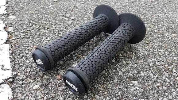 Eastern Dragon Scale BMX Grips - Black