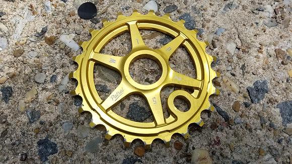 WTP Patrol BMX Sprocket - Gold (25T)