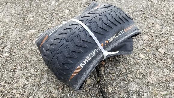 "KHE Mac Dirt 20"" X 55mm Folding Tire - Black"