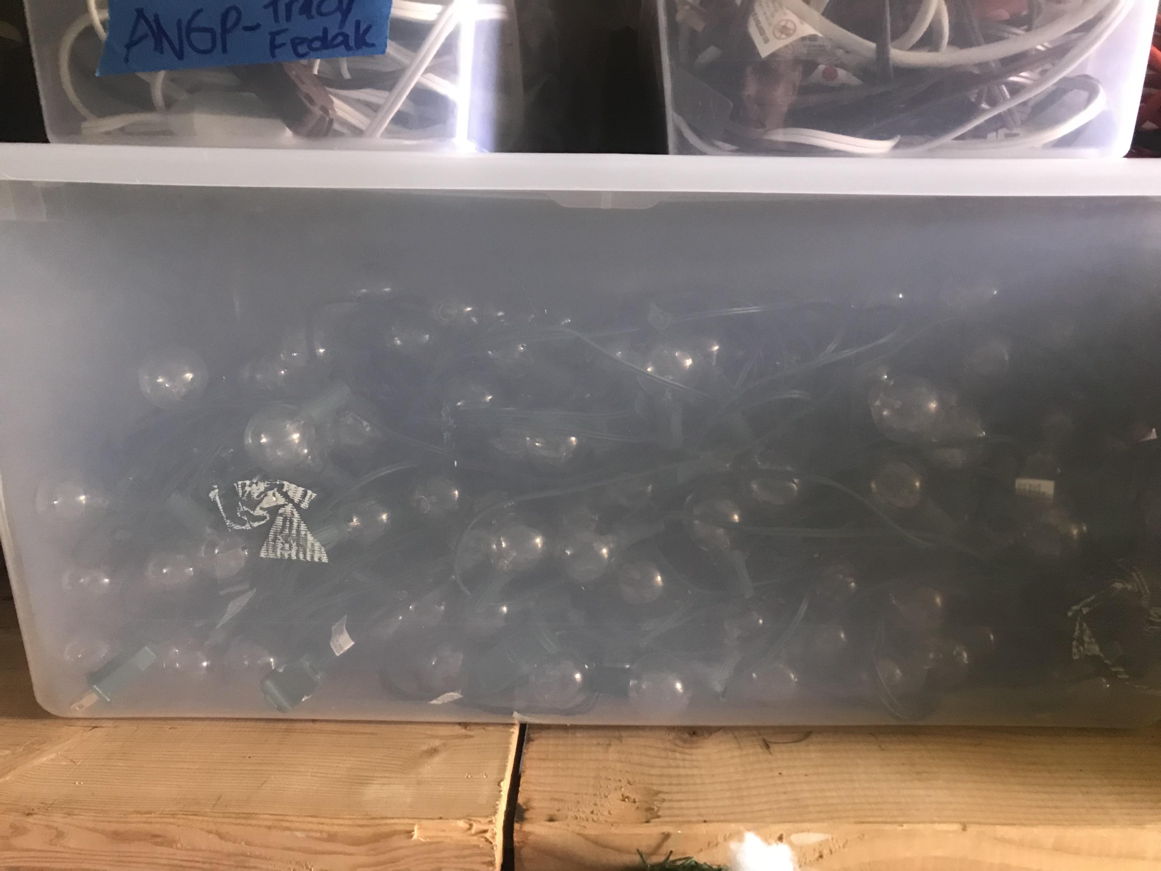 Lights bulbs, round lights