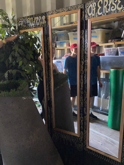 3 Panelled Mirror