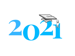 class of 2021 blue and white text PNG.00
