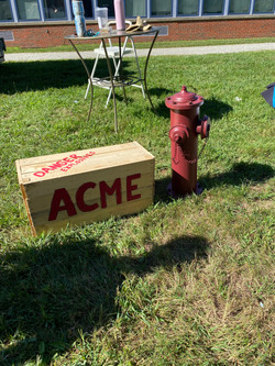 Box and Fire Hydrant