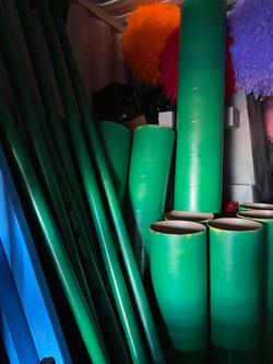 Green tubing
