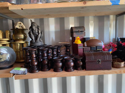 Wooden Candle holders mini chests