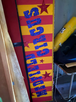 Circus Sign with lights