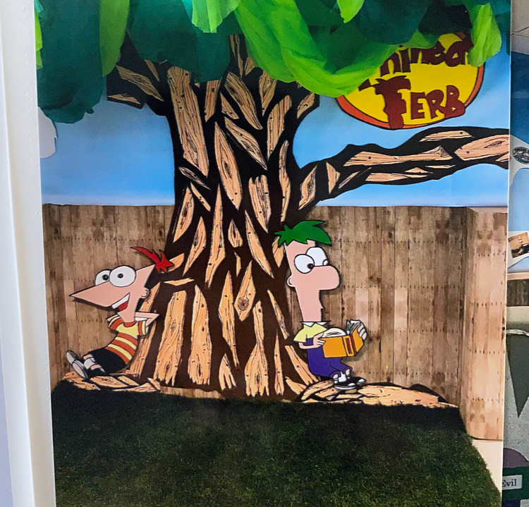 AREA 4 PHINEAS & FERB