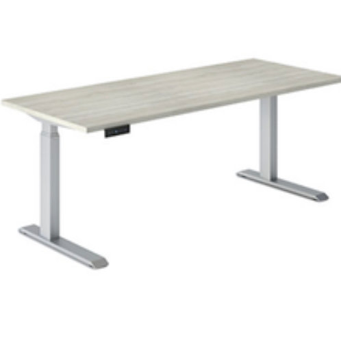 Height Adjustable Desk #E1-2LEG/2448TOP