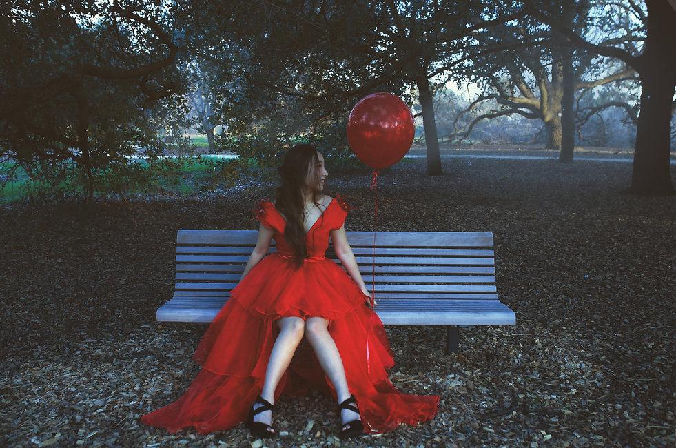 Red Dress Fusi Xu Fashion