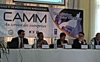 colloque CAMM CMAR centre de médiation et d'arbitrage arbitrage international dans la zone océan indien