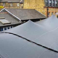 stretch tent installation