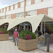 Amersham stretch tent idea