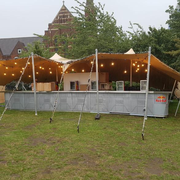 12x8m stretch tent
