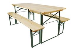 Trestle Bench Set