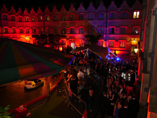 8x6m stretch tent Oxford Uni ball