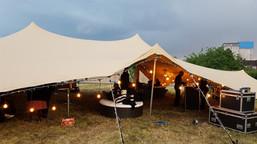10x15m stretch tent