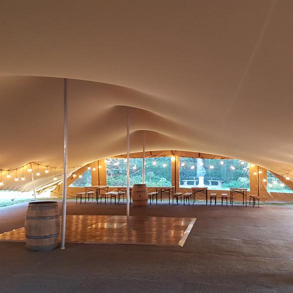 20x15m stretch tent