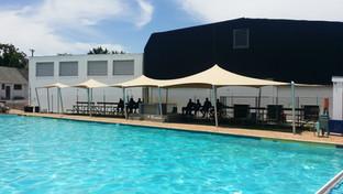 stretch tent pool