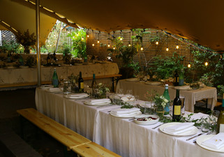 6x8m + 6x8m + 7x9m stretch tents wedding