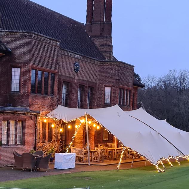 8x12m stretch tent golf club