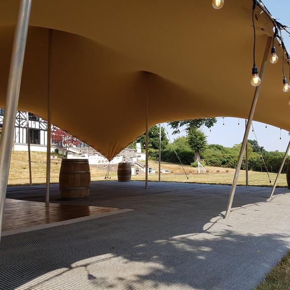 18X12m chino stretch tent
