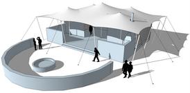 stretch tent corporate event