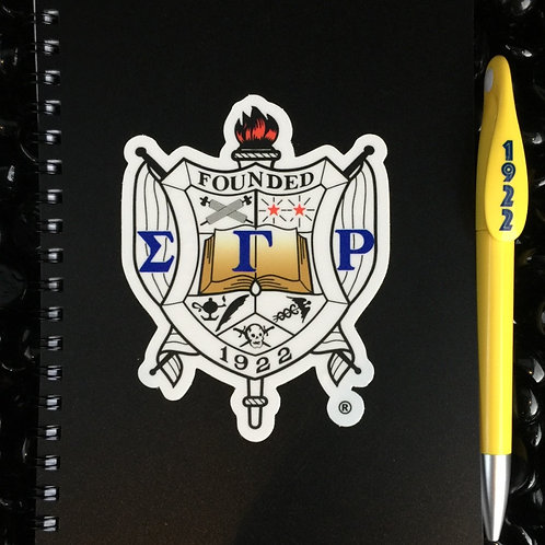 Shield Notebook & Pen Set