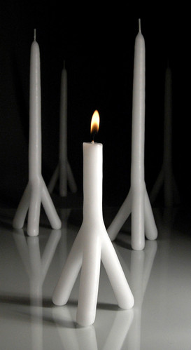 Tri-Ped Candles