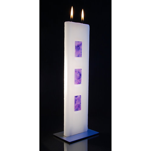 Tablet Candle - Lilac