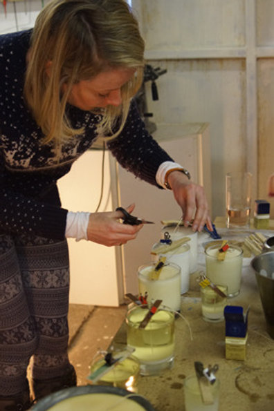Candle Making for Beginners Course - Saturday 24th April 2021