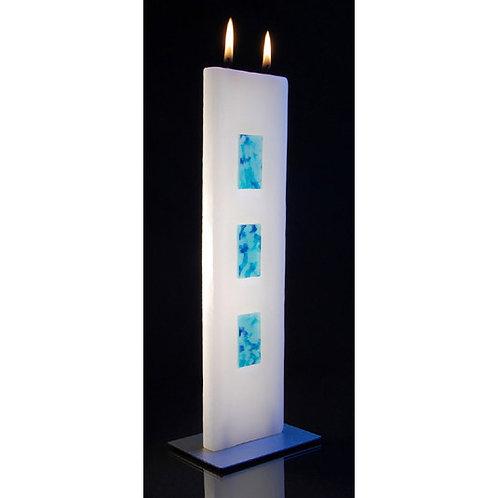 Tablet Candle - Aqua