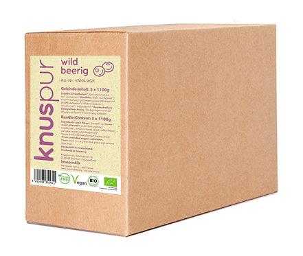 knuspur wildbeerig 8x 1100g XXL-Beutel im Gebindekarton