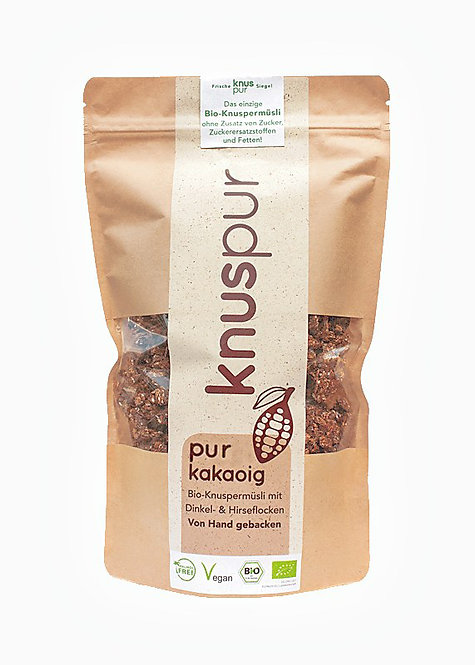 knuspur pure cocoa 300g