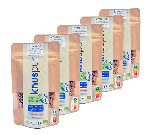 knuspur to-go soy flaky 5-pack