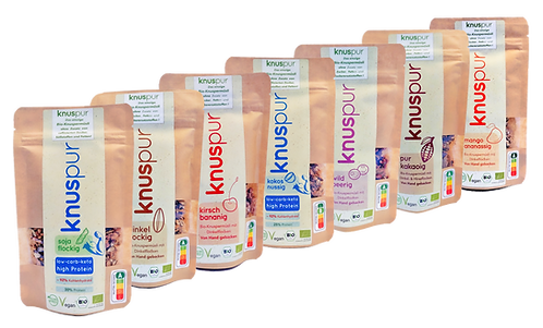 knuspur To-Go - All Variation-Edition - 7-Pack