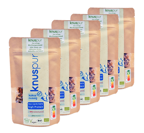 knuspur to-go coconutty 5-pack