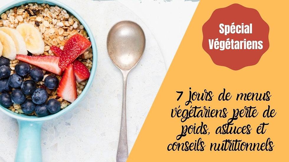 Challenge Sèche Végétarien