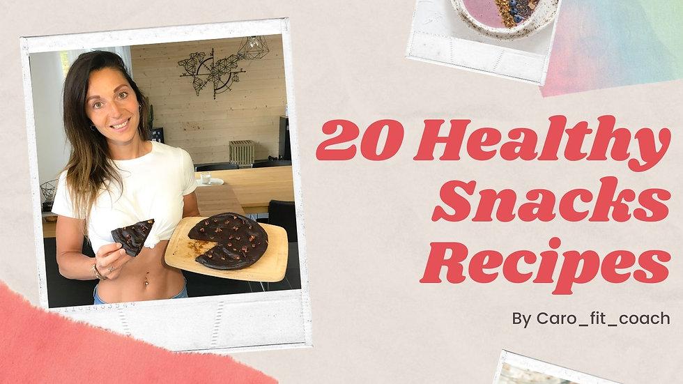 20 Healthy snacks recipes