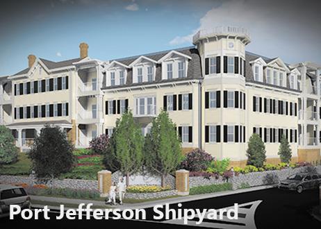 Port Jefferson - Shipyard -Sound Beyond.