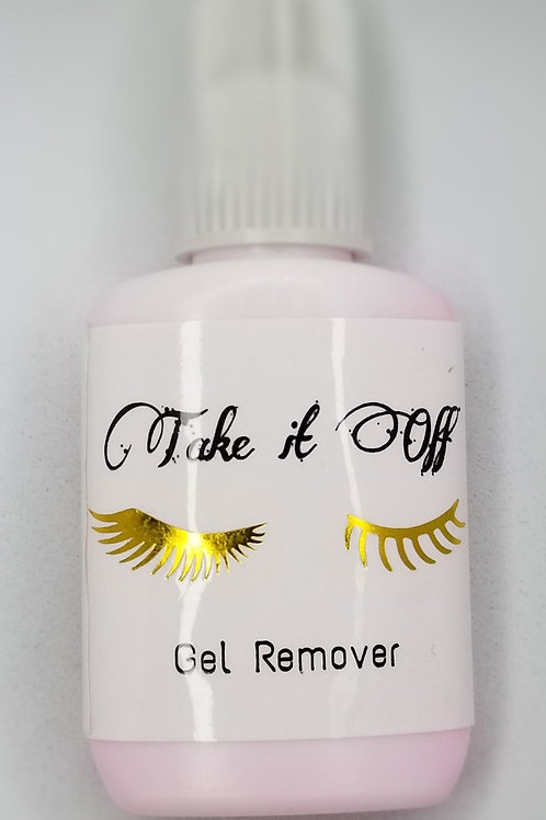 Take it off! Gel adhesive remover