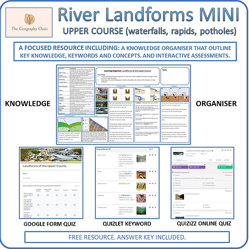 River Landforms of the Upper Course (MINI)