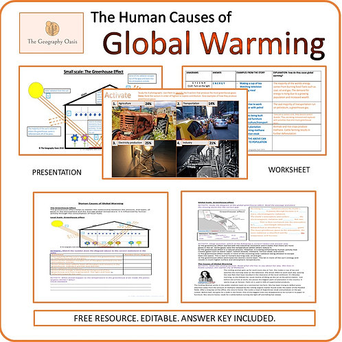 The Human Causes of Global Warming