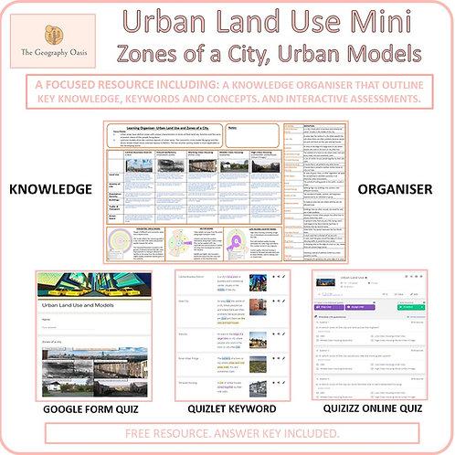 Urban Land Use and Models (MINI)