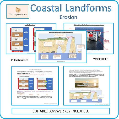 Coasts- Erosional Landforms